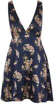 **Say It Isn't So Floral Print Tea Dress by WYLDR