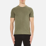 Ymc Wild Ones Pocket Tshirt - Olive