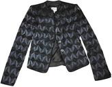 Armani Collezioni Anthracite Silk Jacket for Women