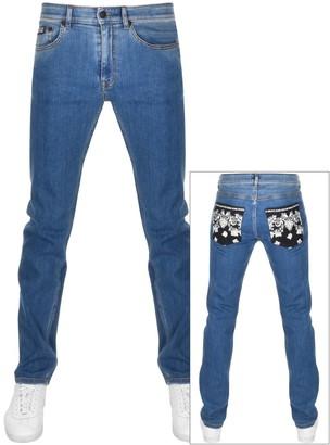 Versace Slim Fit Jeans Blue