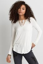 American Eagle Outfitters AE Soft & Sexy Knotted T-Shirt