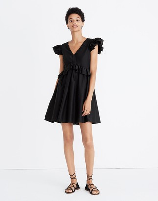 Madewell Karen Walker Helena Ruffled Dress