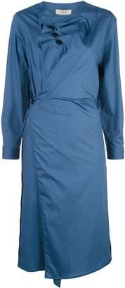 Sea Louise waist-button dress