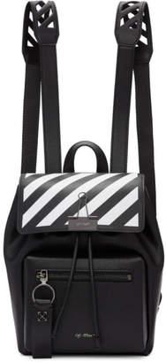 Off-White Off White Black Diag Backpack