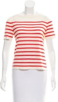 Marc Jacobs Wool-Blend Striped Top