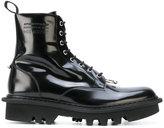 Neil Barrett pierced lace-up boots
