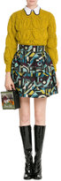 Olympia Le-Tan Printed Skirt