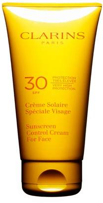Clarins SPF 30 Sunscreen Control Cream For Face