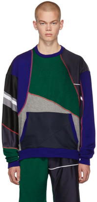 Ahluwalia Multicolor Patchwork Sweatshirt
