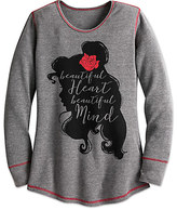 Disney Belle Long Sleeve Thermal Tee for Women