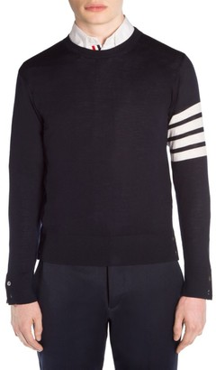 Thom Browne Wool Crewneck Pullover Sweater