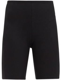 Paco Rabanne Logo-jacquard Jersey Cycling Shorts - Black Multi