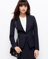 Ann Taylor Petite All-Season Stretch Two Button Jacket