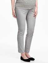 Old Navy Maternity Side-Panel Pixie Chinos