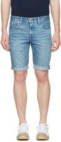 Levi's Levis Blue Denim 511 Shorts