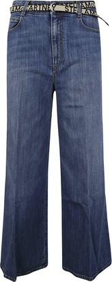 Stella McCartney Wide Leg Flared Jeans