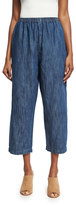 eskandar Japanese Trousers, Blue