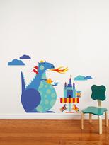 Dragon Tea Party Wall Art