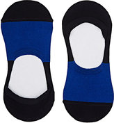 Barneys New York Men's Colorblocked Stretch-Cotton No-Show Socks
