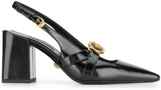 Versace Medusa Icon chunky heel pumps