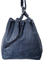 Leather Drawstring Bag - ShopStyle