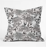 Deny Designs Summertime Natural Throw Pillow