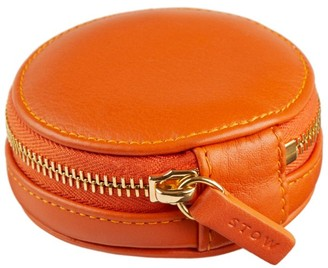 Stow Leather Compass Accessories Case