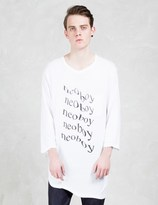 Undercover Melting Effect L/S Pocket T-Shirt