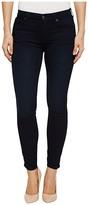 7 For All Mankind High-Waist Ankle Skinny in Blue Black Twilight (Blue/Black Twilight) Women's Jeans