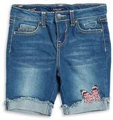 Vigoss Girls 2-6x Girl's Denim Bermuda Shorts