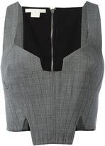Antonio Berardi cropped corset top