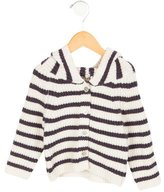 Emile et Ida Girls' Hooded Striped Sweater w/ Tags