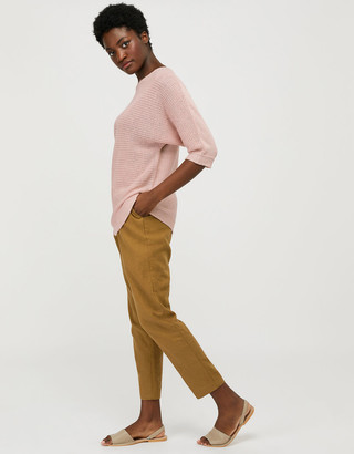 Under Armour Verity Batwing Jumper in Pure Linen Pink
