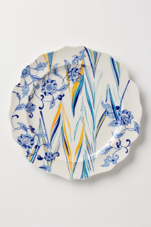 Anthropologie Fusion Dinner Plate