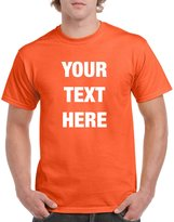 Prnnt Custom Personalized Gildan t-shirt Your Text Here No Minimums