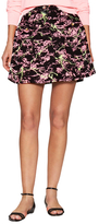 Love Moschino St. All-Over Cotton Skirt