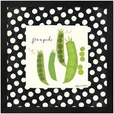Metaverse Art Simple Peapods Framed Wall Art