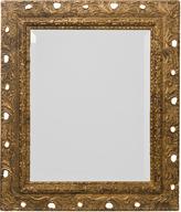 Rejuvenation Petite Beveled Glass Mirror in Rococo Gilt Frame c1900