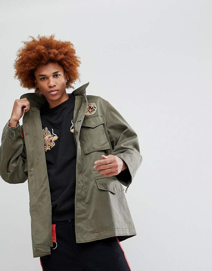 MHI Tiger Patch M65 Jacket