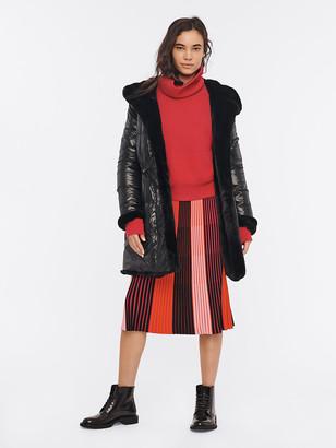 Diane von Furstenberg Kalila Faux-Fur-Lined Puffer Coat