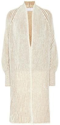 Chloé Ribbed wool-blend cardigan