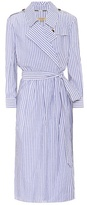 Burberry Dessa cotton wrap dress