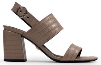 Lola Cruz Lincoln Taupe Sandals