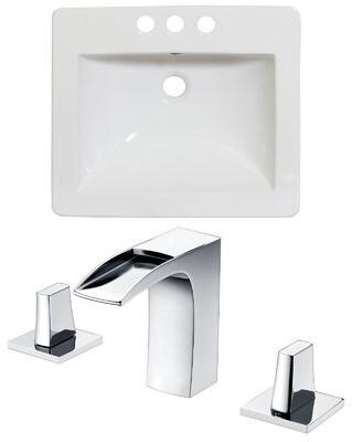 "American Imaginations Double Handle 21"" Single Bathroom Vanity Top"