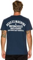 Deus Ex Machina Venice La Address Ss Tee