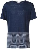 Onia 'Chad' T-shirt - men - Linen/Flax - S