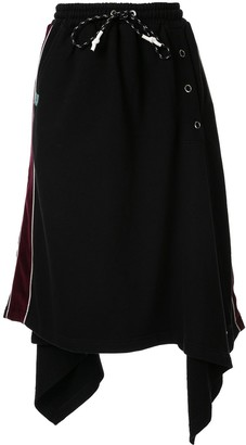 Maison Mihara Yasuhiro Rectangle snap skirt