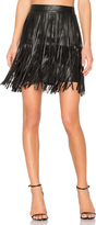 n:PHILANTHROPY Clover Fringe Mini Skirt