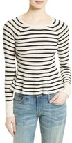 Rebecca Taylor Women's Stripe Lambswool Sweater