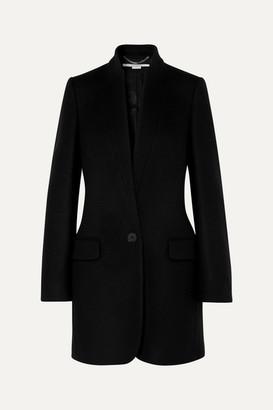 Stella McCartney Bryce Wool-blend Coat - Black